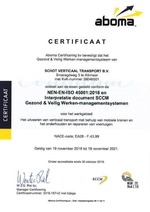schot verticaal transport ISO-45001-2018-tot-19-11-2021