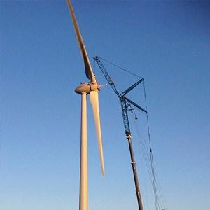 hijskraan voor windmolen