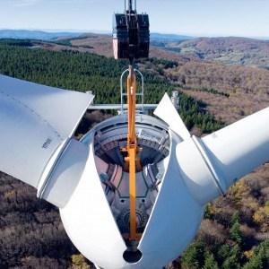 hijskraan voor windmolens